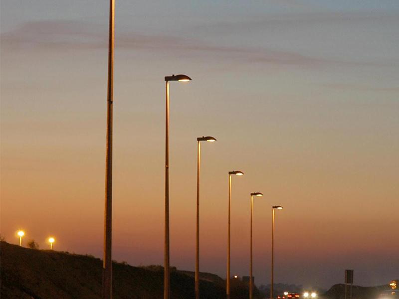 Photo Of Octagonal Pole on Interior Light Fuse