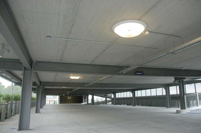 Internal Car park Lighting
