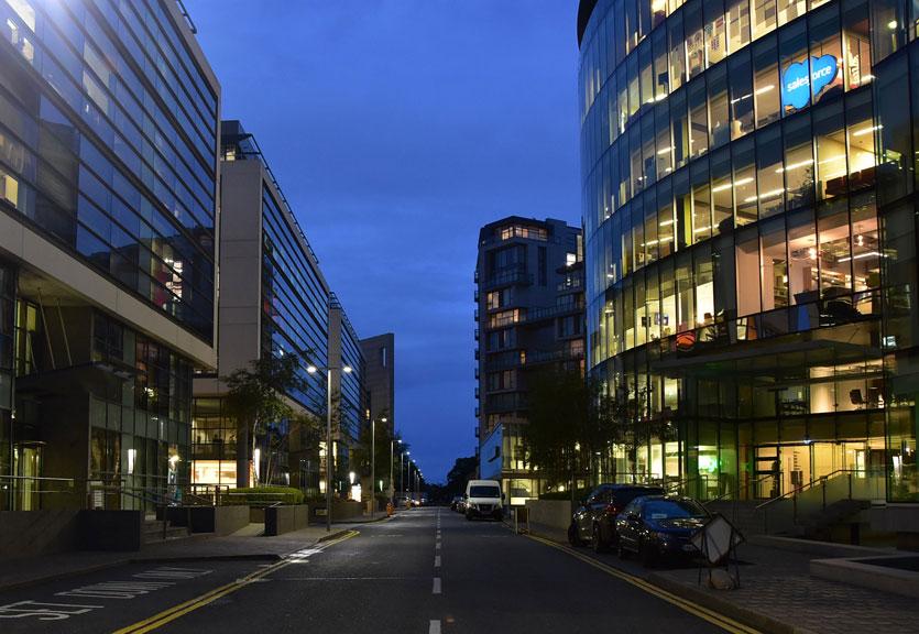 Nightime Streetlighting