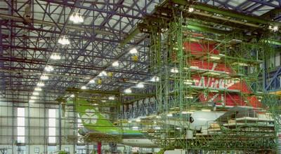 Aircraft Hangar Lighting
