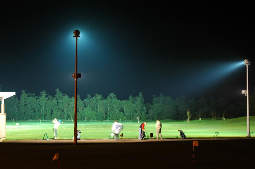 Golf Range Floodlighting