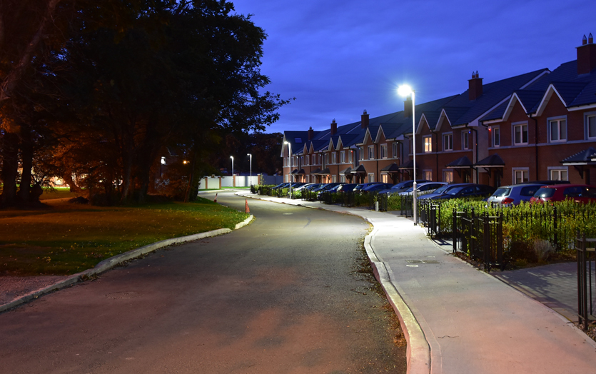 Nightime Street lighting