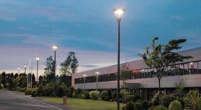 Parking area lighting