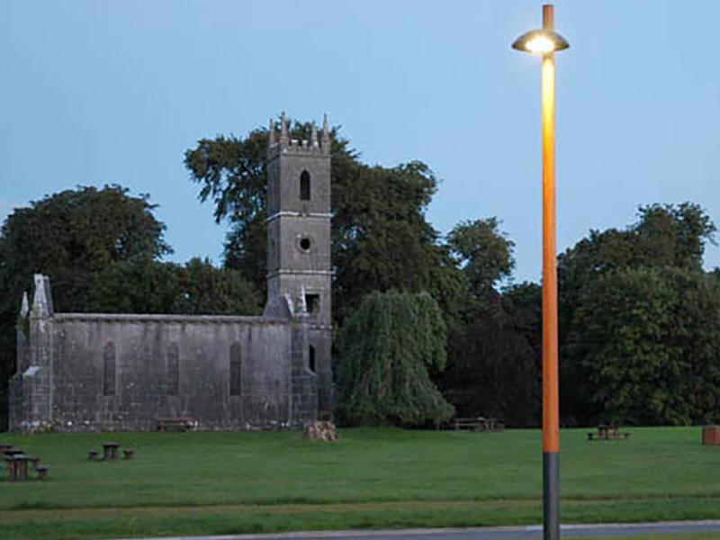 Lough Park Wooden Poles