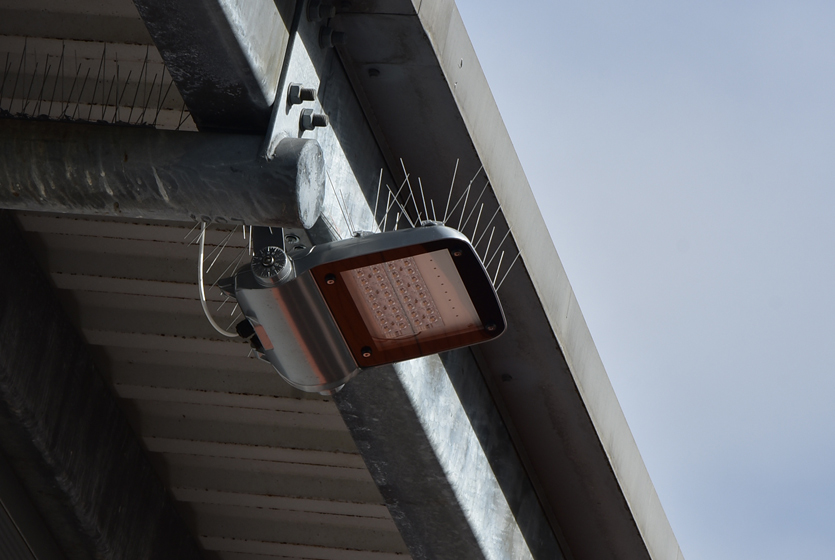 Photo of Floodlight with Anti-bird spikes