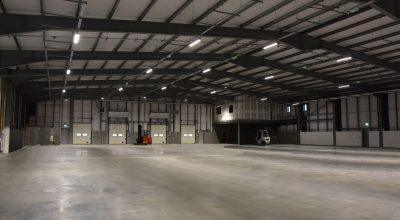 Internal Warehouse lighting