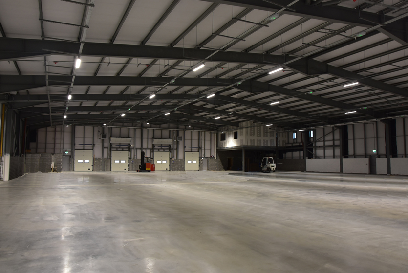 Internal Warehouse lighting