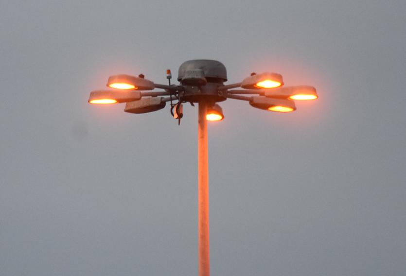 Photo of Old HPS High Mast Floodlights