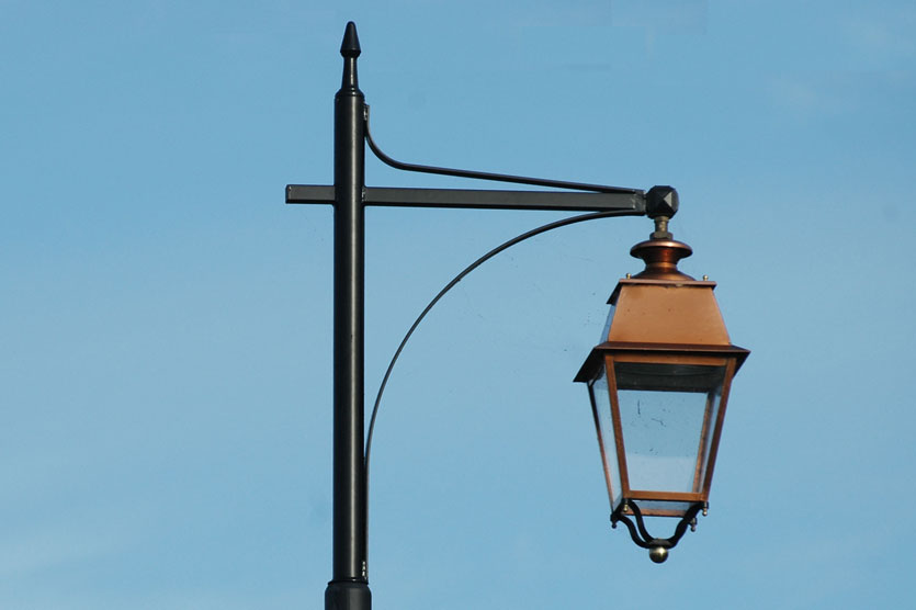 Heritage Light with Copper Finish