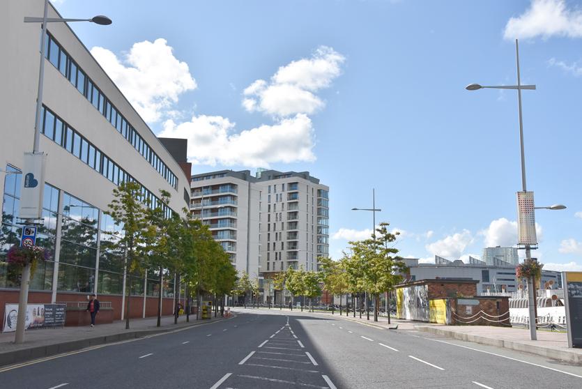 Belfast Street lighting