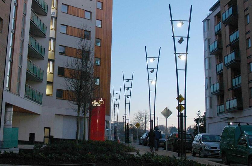 Architectural Lighting Column