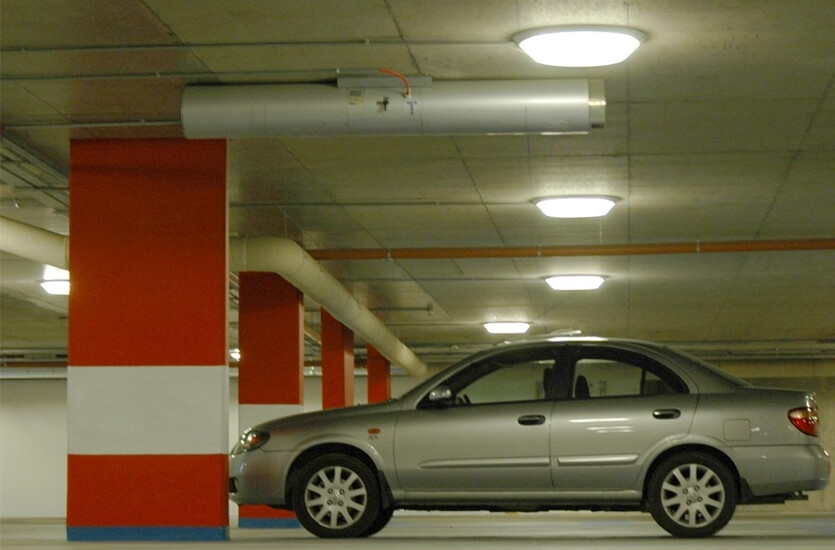 Basement Car park lights