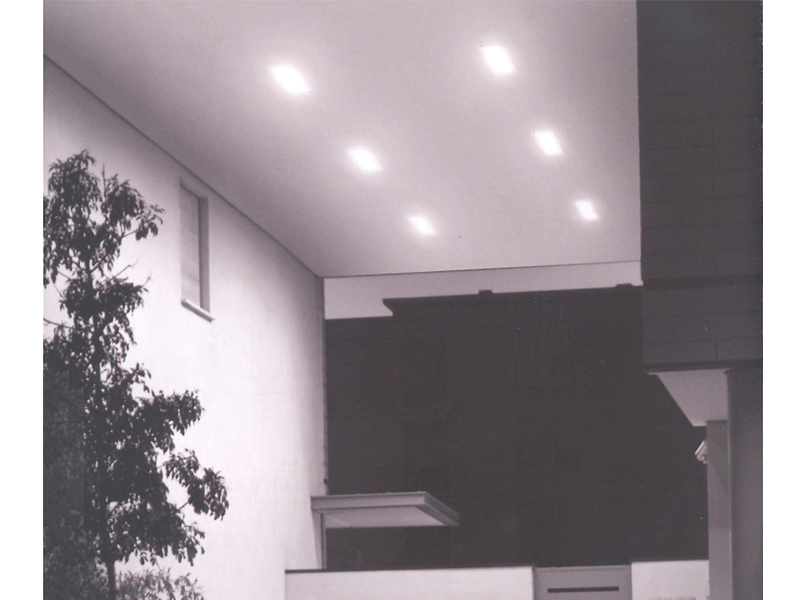 Rectangular Canopy Light Exterior Lighting Ireland By VeeLite