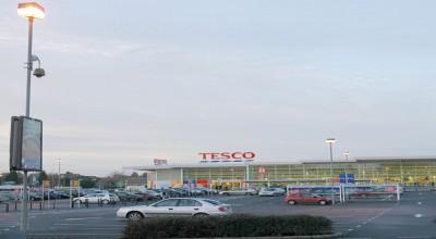 Supermarket Car park lighting